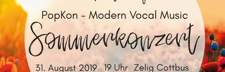 Sommerkonzert-Plakat 31.8.2019